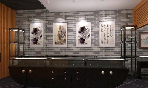 龙口展馆设计 博物馆茶艺厅