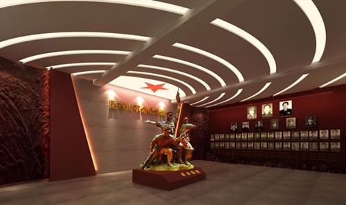 烟台展厅设计 昆嵛山革命纪念馆