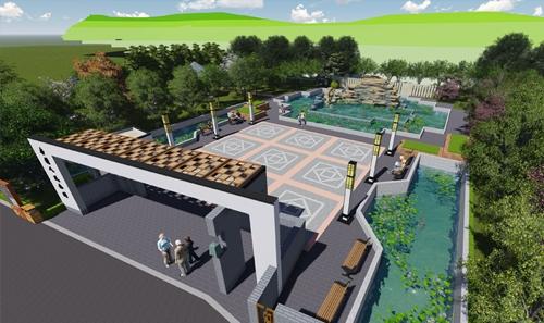 烟台商业空间设计案例 文化公园