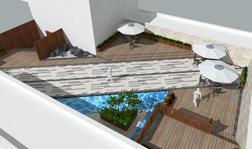 煙台室外商業空間設計 觀景平台
