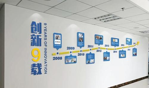 烟台企业文化建设设计-企业文化墙