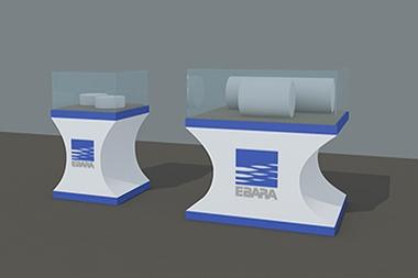 煙台商業空間--陳列櫃展示櫃設計