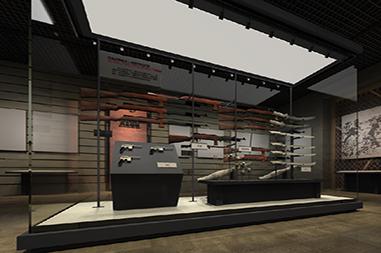 莱山区展柜设计