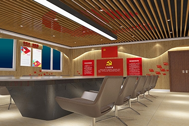 莱山区党建设计--党建荣誉室