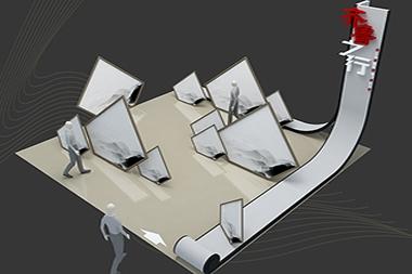 莱山区展台搭建设计