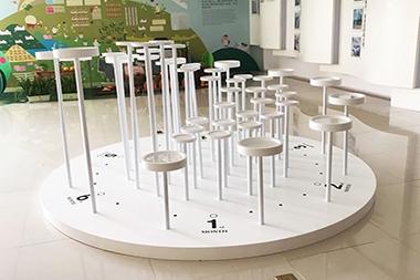 莱山区展示台设计