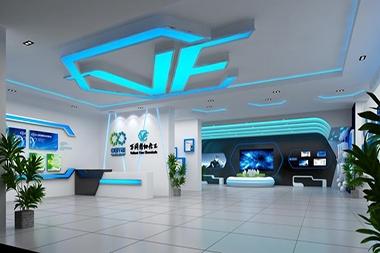 莱山区企业展示馆设计