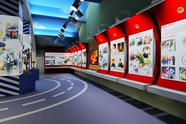 烟台政府展厅设计