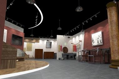 烟台展馆设计--村史馆设计