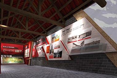 莱山区展馆设计--红色文化设计