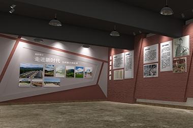 芝罘区乡村振兴展馆展厅设计