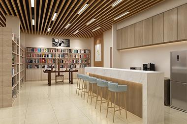 煙台文化空間--休閑書吧設計
