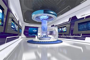 煙台企業展廳設計
