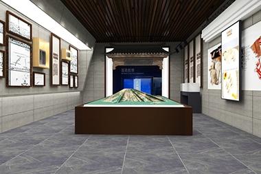 烟台展馆设计--非遗展馆