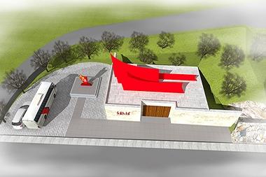 烟台红色展馆设计--红旗教育馆